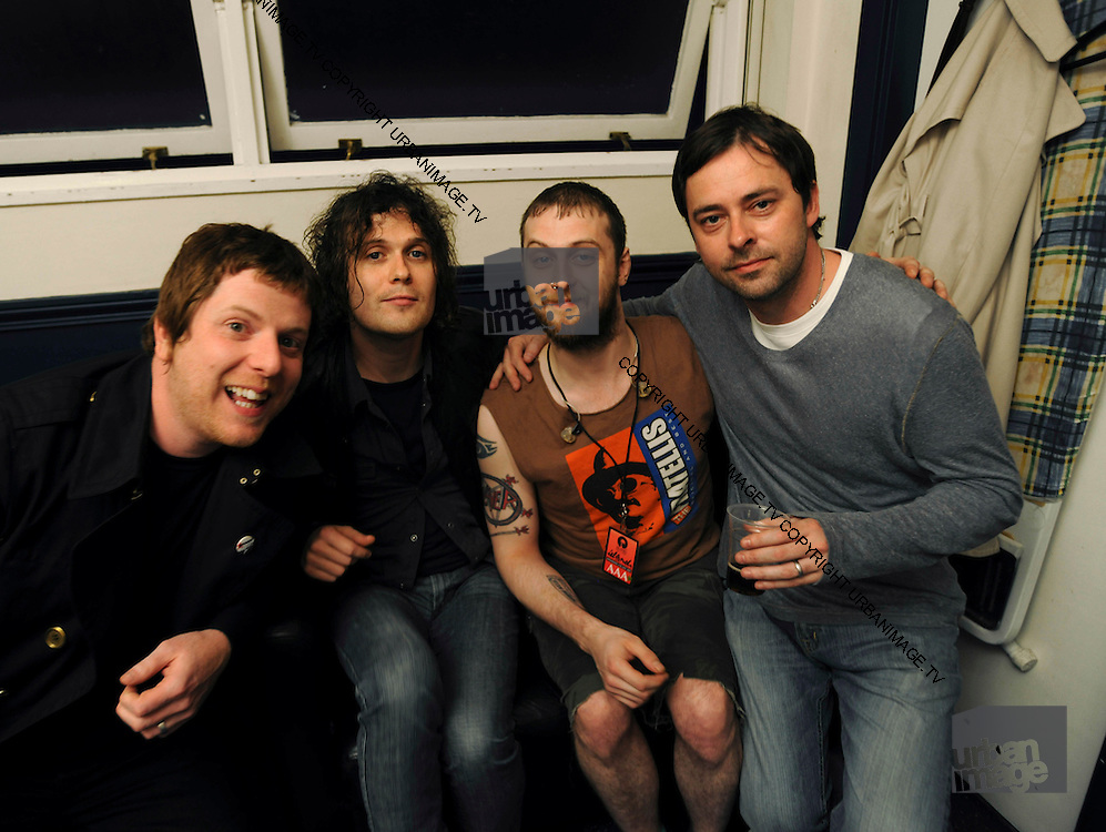 The Fratellis with Island MD Jon Turner
