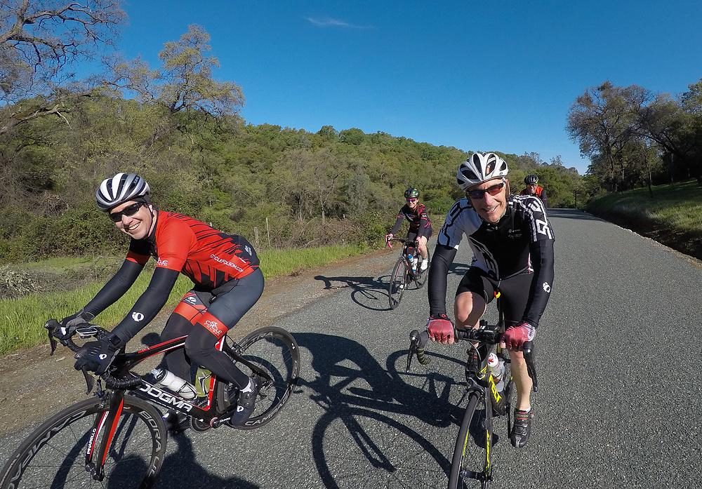 Cycle Folsom Ninja Climbing Series Ride #4 Rhino and Rattlesnake Saturday, April 13, 2019.