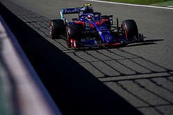 August 30, 2019, Francorchamps, Belgium: PIERRE GASLY of Scuderia Toro Rosso during practice of the Formula 1 Belgian Grand Prix at Circuit de Spa-Francorchamps in Francorchamps, Belgium. (Credit Image: © James Gasperotti/ZUMA Wire)