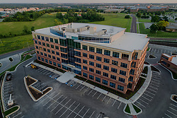 New office construction development, Nall Corporate Centre 2; Block Real Estate Services. Overland Park, Kansas.