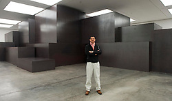 Sculptor Antony Gormley launches his exhibition of cast iron blocks called ' Model'  at the White Cube Gallery, Bermondsey, London, Tuesday, 27th November 2012.  Photo by: i-Images