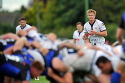 Mark Cooke (Bristol) watches a scrum - Photo mandatory by-line: Patrick Khachfe/JMP - Mobile: 07966 386802 17/08/2014 - SPORT - RUGBY UNION - Bristol - Clifton Rugby Club - Bristol Rugby v Newport Gwent Dragons - Pre-Season Friendly