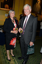 DEREK & LOUSIE LEWIS at a party to celebrate the publication of Strictly Ann by Ann Widdecombe held at the Carlton Club, 69 St.James's Street, London on 6th June 2013.