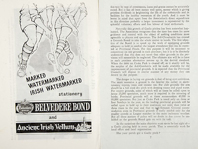 All Ireland Senior Hurling Championship Final,.01.09.1963, 09.01.1963, 1st September 1963,.Minor Wexford v Limerick, .Senior Kilkenny v Waterford, Kilkenny 4-17 Waterford 6-08,..Belvedere Bond, Ancient Irish Vellum, .