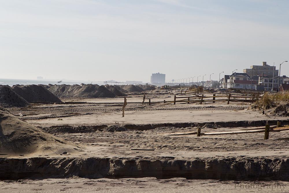 Hurricane Sandy aftermath 2 weeks later in Ventnor, NJ on Monday November 12, 2012.  (Photo / Mat Boyle)