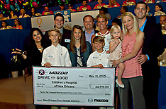 Mazda gives-Childrens Hospital NOLA telethon