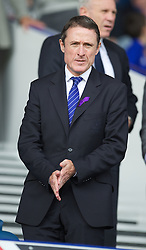 LIVERPOOL, ENGLAND - Saturday, October 1, 2011: Everton's Chief-Executive Robert Elstone during the Premiership match against Liverpool at Goodison Park. (Pic by David Rawcliffe/Propaganda)