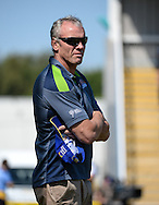 Brian McDermott Head Coach of Leeds Rhinos during the Super 8s Qualifiers match at The Big Fellas Stadium, Post Office Road, Pontefract.<br /> Picture by Richard Land/Focus Images Ltd +44 7713 507003<br /> 06/08/2016