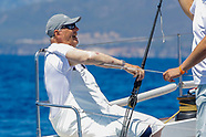 072919 King Harald V of Norway 38th Copa del Rey Mapfre Sailing Cup - Day 1