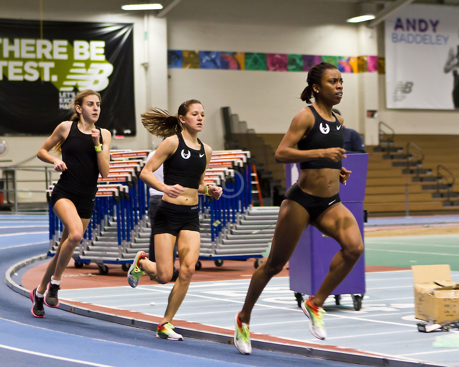 New Balance Indoor Grand Prix track meet: Oregon Project: Moser, Erdman, Cain workout on track after meet