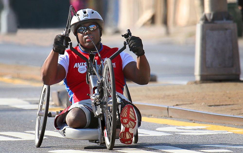 """""""We try harder."""" NYC Marathon, 2007."""