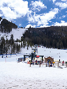Ski school at  Keystone Ski Resort, Keystone, Colorado, USA.
