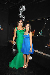 Fashion designer ISABEL KRISTENSEN and her daughrer VALENTINA at Andy & Patti Wong's Chinese new Year party held at County Hall and Dali Universe, London on 26th January 2008.<br /> <br /> NON EXCLUSIVE - WORLD RIGHTS (EMBARGOED FOR PUBLICATION IN UK MAGAZINES UNTIL 1 MONTH AFTER CREATE DATE AND TIME) www.donfeatures.com  +44 (0) 7092 235465