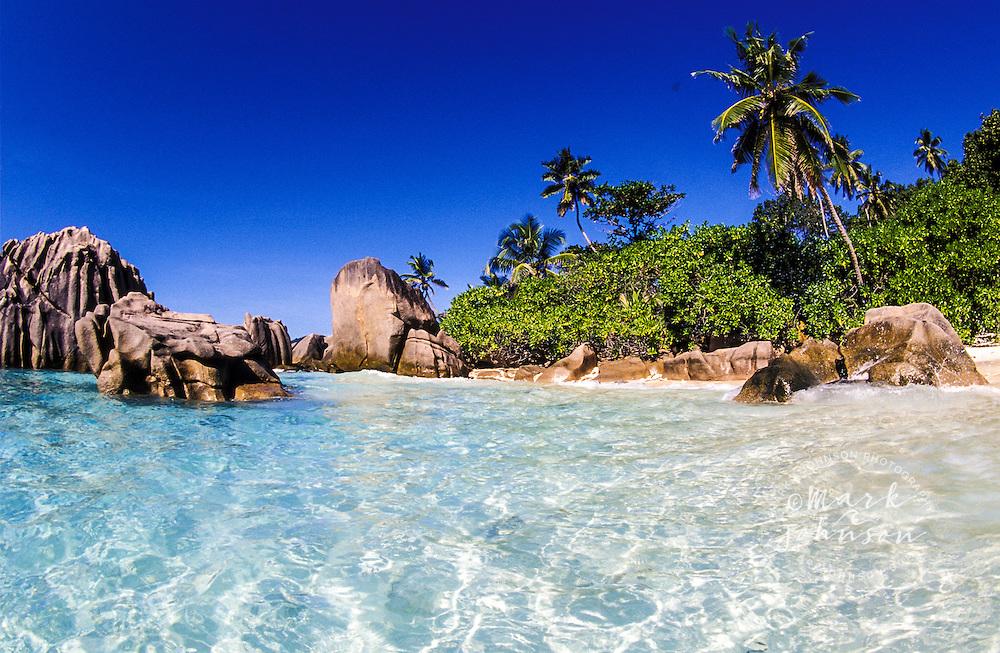 Anse Patates, La Digue Island, Seychelles