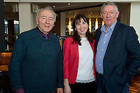 Pat O'Sullivan SCCUL Enterprises Board Member, Trish  Murphy SCCUL and John Grealish, Choir factor organising Committee  at the launch of  Launch of Choirfactor 2014' which takes place in the Radisson Blu Hotel, Galway on Friday 11th April 2014. Photo:Andrew Downes