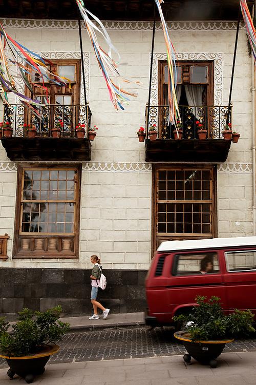 Casa de los Balcones, La Orotava, North Tenerfie.