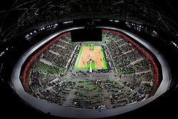 Arena Stozice during basketball match between KK Union Olimpija and Mapooro Cantu (ITA) in 6th Round of Regular season of Euroleague 2012/13 on November 15, 2012 in Arena Stozice, Ljubljana, Slovenia. (Photo By Vid Ponikvar / Sportida)