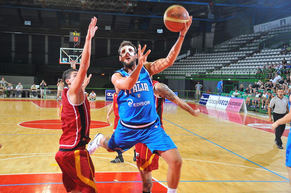 DESCRIZIONE : Firenze I&deg; Torneo Nelson Mandela Forum Italia Macedonia<br /> GIOCATORE : Marco Mancinelli<br /> SQUADRA : Nazionale Italia Uomini <br /> EVENTO : I&deg; Torneo Nelson Mandela Forum <br /> GARA : Italia Macedonia<br /> DATA : 16/07/2010 <br /> CATEGORIA : <br /> SPORT : Pallacanestro <br /> AUTORE : Agenzia Ciamillo-Castoria/M.Gregolin<br /> Galleria : Fip Nazionali 2010