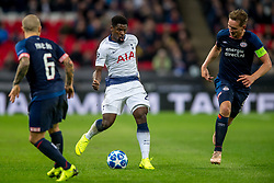 November 6, 2018 - London, Greater London, England - Serge Aurier of Tottenham Hotspur during the UEFA Champions League Group Stage match between Tottenham Hotspur and PSV Eindhoven at Wembley Stadium, London, England on 6 November 2018. Photo by Salvio Calabrese. (Credit Image: © AFP7 via ZUMA Wire)