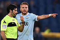 Arbitro Maresca, Ciro Immobile Lazio <br /> Roma 05-02-2018 Stadio Olimpico Football Calcio Serie A 2017/2018 Lazio - Genoa . Foto Andrea Staccioli / Insidefoto