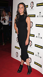 Caroline Ford attends Anti-Social - UK Film Premiere at Cineworld, Haymarket, London on Tuesday 28 April 2015,