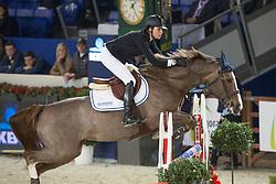 Cordon Pilar (ESP) - Coriana van Klapscheut<br /> Prijs Nekkerhal<br /> Flanders Christmas Jumping - Mechelen 2012<br /> © Dirk Caremans