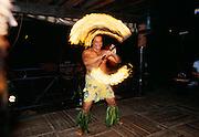 Torch dancer, Hawaiian luau, Hawaii
