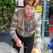 NLD/Amsterdam/20130701 - Keti Koti Ontbijt 2013 op het Leidse Plein, Maartje van Weegen
