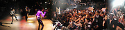 Michael Jackson on stage. Michael Jackson fan club tribute party celebrating 20th anniversary of Thriller. Equinox. Leicester Sq. London. 15 june 2002.  © Copyright Photograph by Dafydd Jones 66 Stockwell Park Rd. London SW9 0DA Tel 020 7733 0108 www.dafjones.com