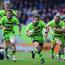 14,04,2018 Aviva Premiership Leicester Tigers and Northampton