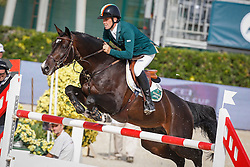 Breen Shane (IRL) - Balloon<br /> Furusiyya FEI Nations Cup Jumping Final Round 1<br /> CSIO Barcelona 2013<br /> © Dirk Caremans