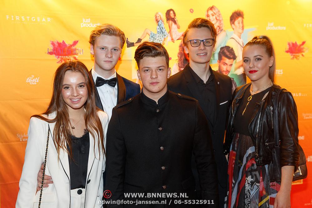 NLD/Amsterdam/20181122 - Premiere First Kiss, kinderen Luca, Senna, Jada Maria en hun relatie
