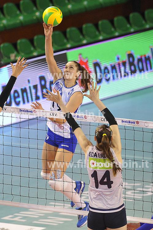 Fenerbahce Istanbul - Dinamo Kazan<br /> Daria Isaeva of Dinamo Kazan