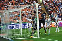 Esultanza di Yuto Nagatomo Inter (L) dopo il gol 1-0 con Rodrigo Palacio <br /> Goal celebration <br /> Milano 25/8/2013 Stadio Giuseppe Meazza <br /> Football Calcio Serie A<br /> Inter - Genoa <br /> Foto Andrea Staccioli Insidefoto