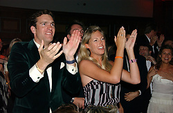 NICK VAN CUTSEM and MARINA HUNT at the Boodles Boxing Ball in aid of the sports charity Sparks  organised by Jez lawson, James Amos and Charlie Gilkes held at The Royal Lancaster Hotel, Lancaster Terrae London W2 on 3rd June 2006.<br /> <br /> NON EXCLUSIVE - WORLD RIGHTS