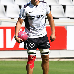 DURBAN, SOUTH AFRICA, 4,MARCH, 2016 - Etienne Oosthuizen during The Cell C Sharks captain's run at Growthpoint Kings Park in Durban, South Africa. (Photo by Steve Haag)<br /> <br /> images for social media must have consent from Steve Haag
