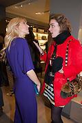 CALGARY AVANSINO; MARIELLA TANDY, Smythson Sloane St. Store opening. London. 6 February 2012.