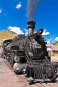 The Durango-Silverton Narrow Gauge Railroad, Silverton, Colorado