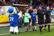 Mascot during the EFL Sky Bet League 1 match between AFC Wimbledon and Rotherham United at the Cherry Red Records Stadium, Kingston, England on 3 August 2019.