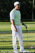 American actor and comedian Will Smith looks down the driving range prior to the Pro-Am event at The 2005 Sony Open In Hawaii. The event was held at The Waialae Country Club in Honolulu.The event was held at The Waialae Country Club in Honolulu.