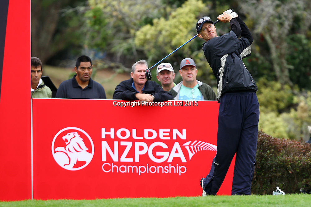 Grant Moorhead during the Holden NZPGA Championship at Remuera Golf Course in Auckland, New Zealand. Friday 6 March 2015. Copyright photo: William Booth / www.Photosport.co.nz