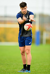Jack Maddocks during training  - Ryan Hiscott/JMP - 08/11/2018 - RUGBY - Llanwern High School - Newport, Wales - Australia Rugby Training Session