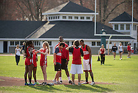 St Paul's School track meet Saturday, April 27, 2013.  Karen Bobotas Photographer