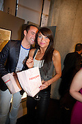 NICK EDE; LIZZIE CUNDY, The Galleries of Modern London launch party at the Museum of London on May 27, 2010 in London. <br /> -DO NOT ARCHIVE-© Copyright Photograph by Dafydd Jones. 248 Clapham Rd. London SW9 0PZ. Tel 0207 820 0771. www.dafjones.com.