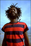 Burning Spear on the Beach - St Ann's Bay Jamaica 1978