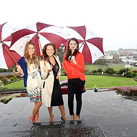 Annalee O Donnovan, Celia Holman Lee and Vinny Kovacsova pictured at the Launch of the Ennistymon GAA Fashion at the Falls Hotel.<br /> Pic. Brian Arthur/ Press 22.