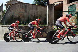 Juliette Labous (FRA) at Stage 1 of 2019 Giro Rosa Iccrea, an 18 km team time trial from Cassano Spinola to Castellania, Italy on July 5, 2019. Photo by Sean Robinson/velofocus.com