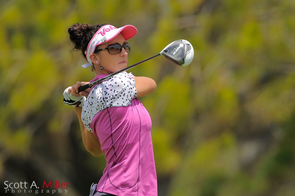 Courtney Massey during second round of the Symetra Tour's Guardian Retirement Championship at Sara Bay in Sarasota, Florida April 27, 2013. ..©2013 Scott A. Miller