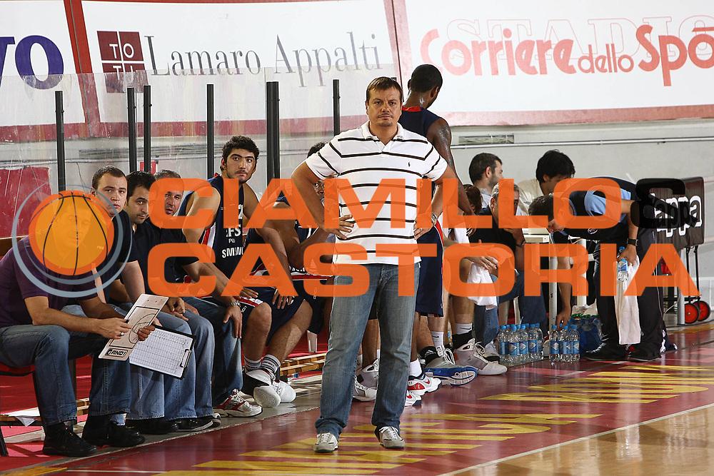 DESCRIZIONE : Roma Lega A 2009-10 Basket Amichevole Lottomatica Virtus Roma Efes Pilsen Istanbul<br /> GIOCATORE : Egin Ataman<br /> SQUADRA : Efes Pilsen Istanbul<br /> EVENTO : Campionato Lega A 2009-2010 <br /> GARA : Lottomatica Virtus Roma Efes Pilsen Istanbul<br /> DATA : 17/09/2009<br /> CATEGORIA : coach team<br /> SPORT : Pallacanestro <br /> AUTORE : Agenzia Ciamillo-Castoria/C.De Massis