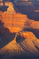 Sunset on the Grand Canyon from Mather Point, Grand Canyon National Park Arizona